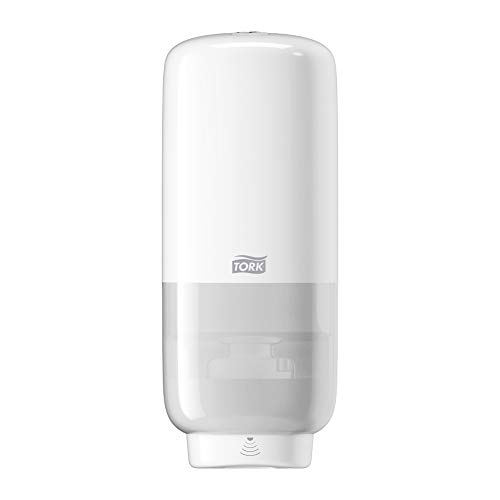 Tork Sensor Seifenspender für Schaumseife und Schaum-Händedesinfektion, Elevation - 561600 - S4 Spender-System für berührungslose Seifenentnahme, weiß