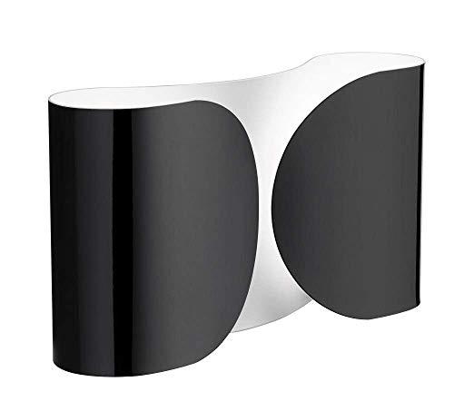 Flos Foglio - Aplique de pared, color negro