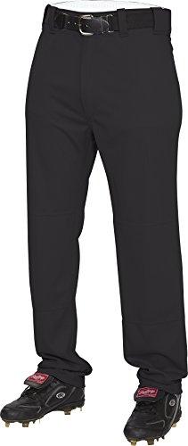 Rawlings Men's Semi-Relaxed Pants, Medium, Black