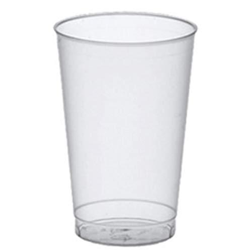 40 Trinkbecher, PP 0,1 l Ø 5,2 cm 7,4 cm transluzent unzerbrechlich Mehrwegbecher