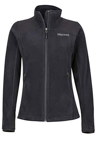 Marmot Damen Flashpoint Jacket Fleecejacke, Black, M