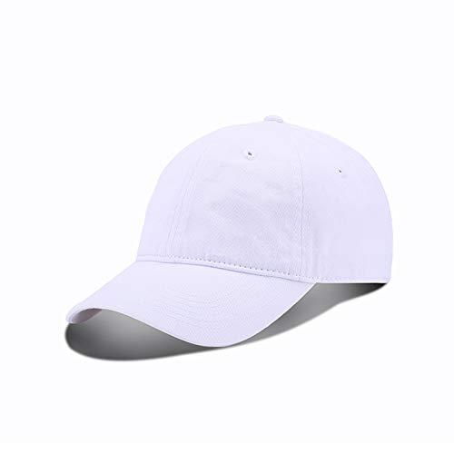 wopiaol Sombreros Hombres y Mujeres Gorras de béisbol Coreanas Marea Primavera Salidas Juveniles Gorras de Ocio Estudiantes Sombreros para el Sol Lavados de Color Puro