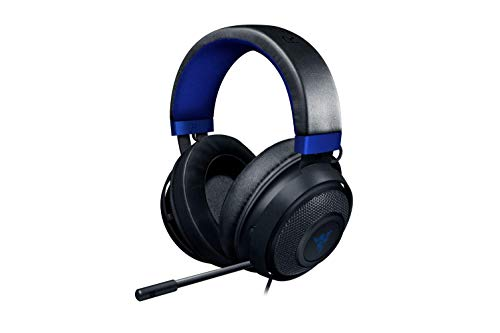 Razer Kraken para Consolas - Auriculares Gaming con Cable, Compatible con todas las Consolas gracias a los 3.5 mm Jack Plug, Negro y Azul oscuro