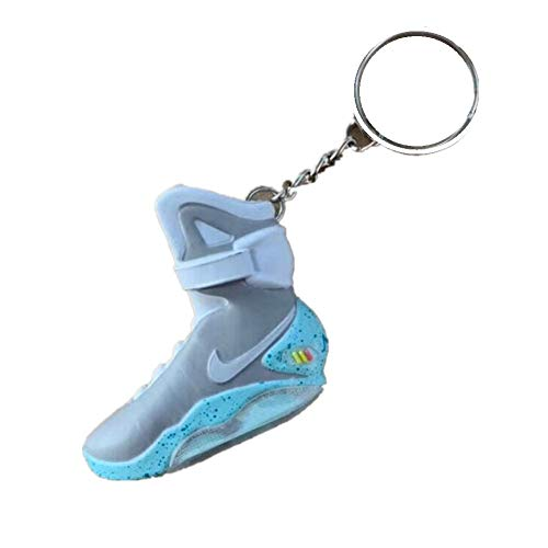 3D Mini shoes Keychain - Glow in the Dark - Back to the Future Keychain - Sneaker Keychain 1Pcs