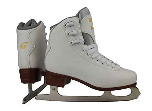 Graf Damen Eiskunstlauf-Schlittschuhe Tango Weiss (100) 39