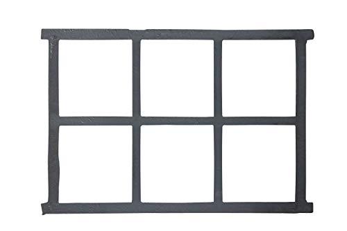 Stallfenster Fenster Scheunenfenster Eisen grau 68cm Antik-Stil Eisenfenster