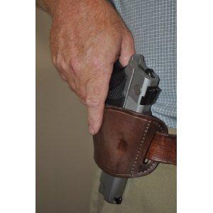 Brown Leather Side Holster for Kel-Tec PMR 30