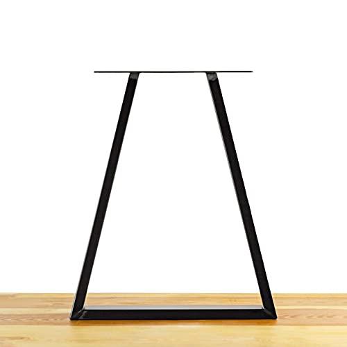 Patas de metal para muebles Patas de metal para mesa de centro de bricolaje Banco de muebles, Patas de mesa de centro de hierro fundido, Patas de mesa de comedor negras industriales, Patas de escrit