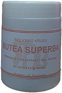Tongkatali.org's Butea Superba Extract 1:100 80 Capsules 400 mg
