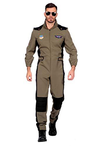 Wilbers & Wilbers Herren-Kostüm Jetpilot Overall, Größe:60