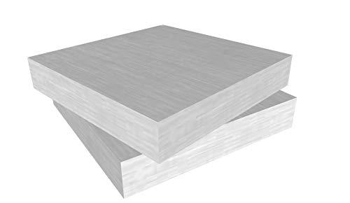 Schaumstoff Platten Set 2 Stück a 45 x 45 x 9 cm sehr feste Qualität RG 40 SH 60