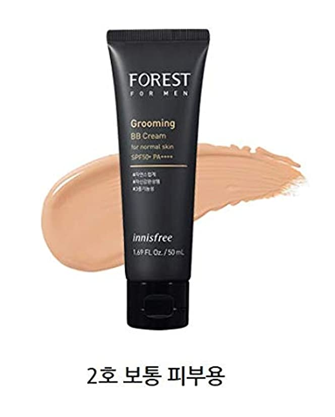香ばしい刈り取るエンドテーブル[イニスフリー.innisfree]フォレストフォアマングルーミングBBクリームSPF50+ PA++++50mL/ FOREST FOR MEN GROOMING BB CREAM SPF50+ PA++++ (#2 通常肌用)