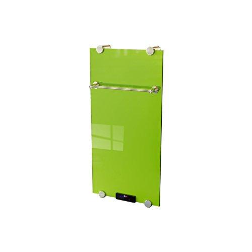 Wand-Luxus-Elektro-Glasheizkörper Flächenheizung 500w Verde mit Fernbedienung Thermostat kaufen  Bild 1*
