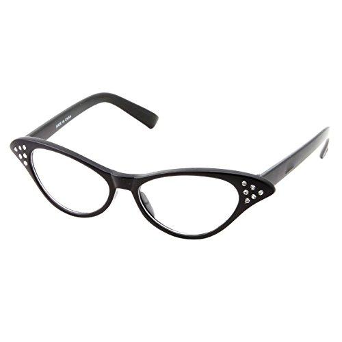 50's Kids Nerd Cat Eye Glasses Girl…