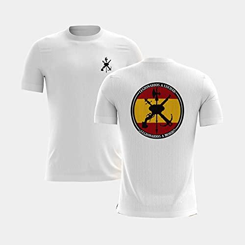 Camiseta de la Legión española Blanco L
