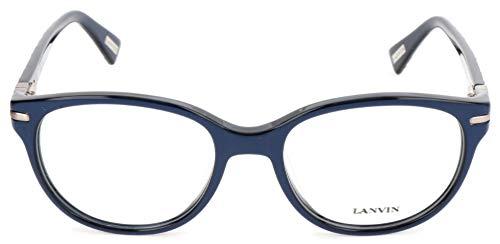 Lanvin BRILLENGESTELLE VLN613M 51 18 135 Montature, Blu (Blau), 51.0 Unisex-Adulto