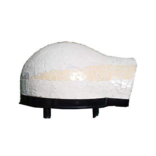 Generico Garden 50 – Horno de leña profesional refractario para jardines y exteriores de 50 cm (2 pizzas)