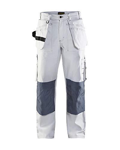 Pantalones de trabajo blakläder 1531pintor/Albañil Color Blanco Talla 25