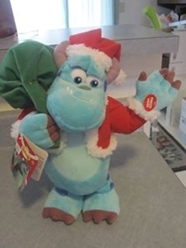 Disney Pixar Monsters Inc Sulley Santa Christmas Dancing Musical Toy Doll Plush by Disney
