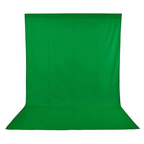 Green Screen, Andoer Sfondo fotografico Verde 1,6 x 3m, Telo Verde per Video Pieghevole Non-Tessuto del Contesto per Studio Fotografico, Fotografia di Moda, Registrazione Video