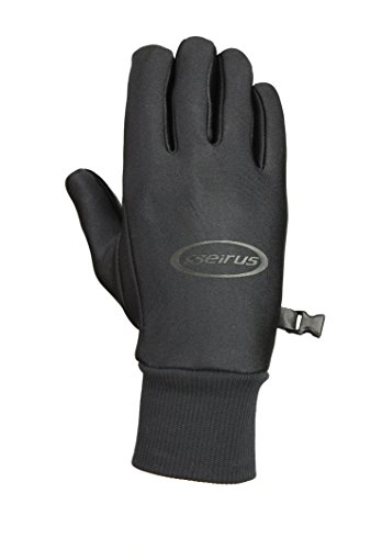 Seirus Innovation Men's Soundtouch All Weather Glove, Black, Large