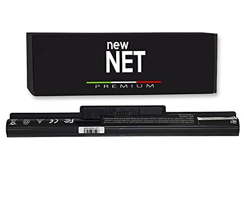 New Net Premium Batteria VGP-BPS35A Compatibile con Notebook Sony Vaio SVF1521L6EW SVF1521MSA SVF1521MSF SVF1521MSG SVF1521R2RW SVF1521R4E SVF1521R6E SVF1521S8EB [Celle Alta qualità 2600mAh]