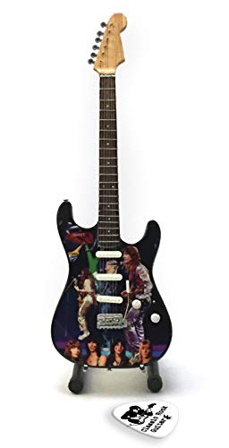 The Sweet Brian Connolly Miniatur-Replica Guitar & Plektren