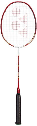 YONEX Nanoray 9 3U/G4 Badmintonschläger, rot, One Size
