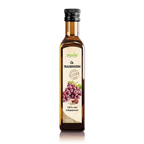 Alpvital Traubenkernöl 250ml - 100% natürlich - kaltgepresst
