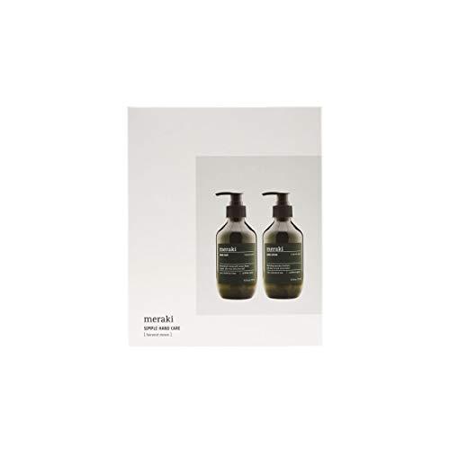 Meraki - Giftbox, Harvest Moon - Seife/Handcreme - Kaktusextrakt/Aloe Vera - 2er -Set - 2 x 9.3 FL.oz/ 275 ml