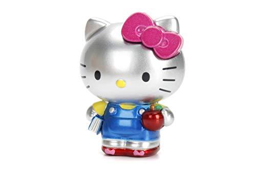Dickie- Hello Kitty-Figura de Metal de 6cm de Altura, Disponibles, Recibirás un Modelo de Forma Aleatoria, No es Posible Realizar Preselección, para Niños a Partir de 3 Años (253240001)