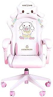 HHJJ Chaise d'ordinateur, Chaise de Jeux pour Enfants Chaise de Jeu Filles Mignon Rose Ordinateur Armoire de Bureau Maison...