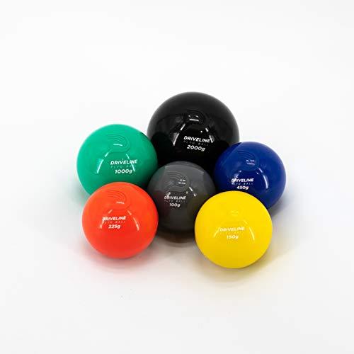 Driveline PlyoCare Weighted Training Baseballs: Improve Velocity and Mechanics - 100g, 150g, 225g, 450g, 1000g, 2000g