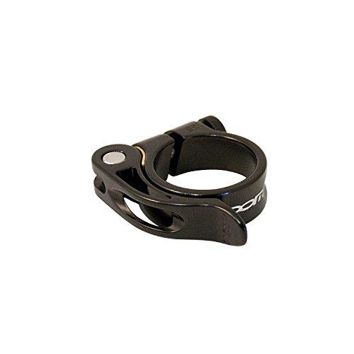Zoom, morsetto per reggisella in lega di alluminio a rilascio rapido (31,8 mm, 35 mm), Black