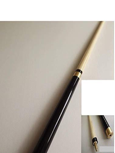 ClubKing Ltd - Stecca da biliardo in 2 pezzi, ca. 145 cm, con custodia morbida