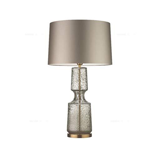 Lfixhssf Tafellamp van Europees kristal met gouden lamp, modern bedlampje voor slaapkamer, woonkamer, keuken, eetkamer