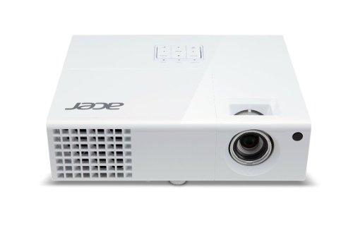 Acer H6510BD Full 1080P 3D Auflösung Projektor. 3000ANSI Lumen, ECO, CBII +, Auto Keystone, 10.000: 1Dynamisches Kontrastverhältnis, Blu Ray 3D, (NVIDIA 3D & DLP 3D) HDMI 1.4x 2, Tragetasche im Lieferumfang enthalten.