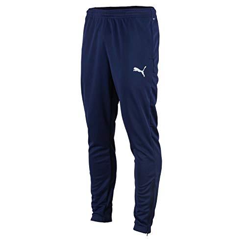 PUMA Herren Jogginghose teamRISE Poly Training Pants, Peacoat-Puma White, XXL, 657390