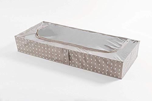 Compactor Rivoli - Funda bajo cama, 107 x 46 x A.16 cm, color beige