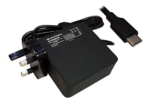 Power4Laptops AC Adapter Laptop Charger Power Supply (UK Plug) Compatible With Asus ExpertBook B9450FA