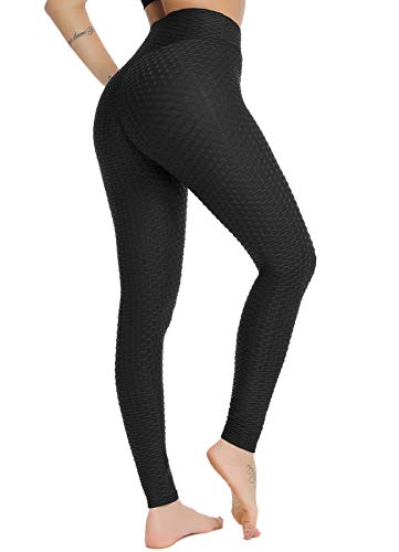STARBILD Legging Sportivi per Donna Anti-Cellulite Vita Alta Pantaloni Compressione Slim...