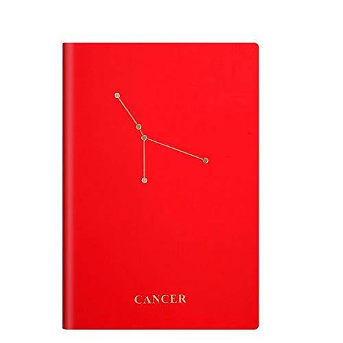 Constellation Academic Diary 2020 2021, A5 Weekly Planner Se Ejecuta Desde Junio De 2020 hasta Mayo De 2021, Tapa Dura Colorida, Mejora De La Gestión del Tiempo (Cáncer)
