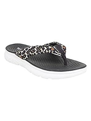 KazarMax Black Memory Foam/ Super Soft/Stylish/Slipper For Women