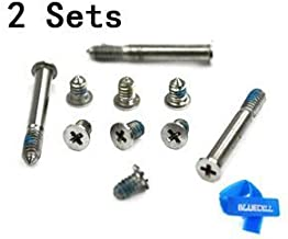 Bluecell Repair Replacement Screws for Unibody Apple Macbook Pro A1278 A1286 13