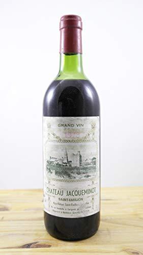 Wein Jahrgang 1978 Château Jacqueminot ME Flasche