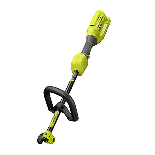 %23 OFF! tectronics Ryobi Expand-It 40-Volt Lithium-Ion Cordless Attachment Capable Trimmer Power He...