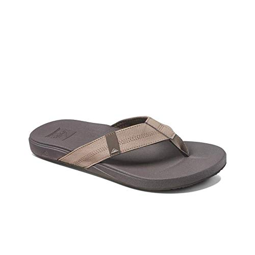 Reef Men's Sandals Cushion Bounce Phantom | Flip Flops for Men with Cushion Bounce Footbed, Brown, 11