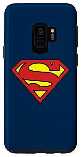 Galaxy S9 Superman Classic Shield Logo Case