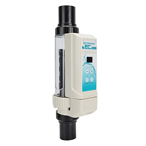 Generador de Cloro Salino - 16 G/H Clorador de Agua Salada Equipo de Tratamiento de Agua Sistema de CloracióN de Agua con FuncióN de DeteccióN de Nivel de Agua para Piscina SPA