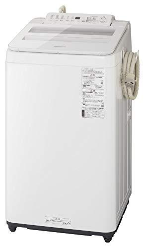 パナソニック 7.0kg 全自動洗濯機 泡洗浄 ホワイト NA-FA70H8-W